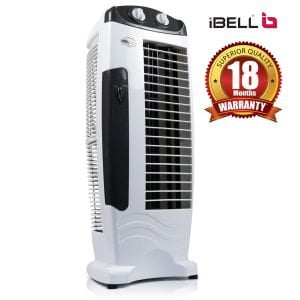 iBELL DELUXE Tower Fan with 25 Feet Air Delivery