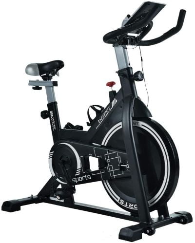 Fitkit FK717 (14lbs Flywheel) with Free Diet Plan,Trainer & Installation Services Spinner Exercise Bike