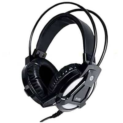 HP H100 Gaming Headset with Mic (Black)