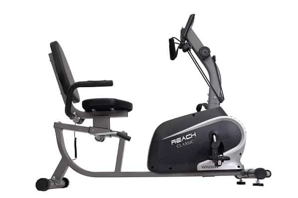 Reach Classic Recumbent Bike Exercise Cycle | Exercise Bike with Back Support Seat