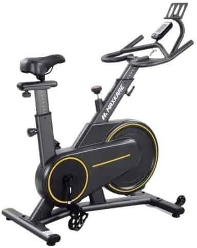Reach Exercise Bike Stationary Magnetic Indoor Cycling Bike Belt Drive for Home With Adjustable Magnetic
