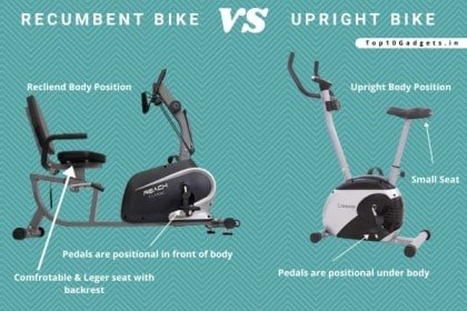 Recumbent vs Upright Exercise Bike: What's the Difference