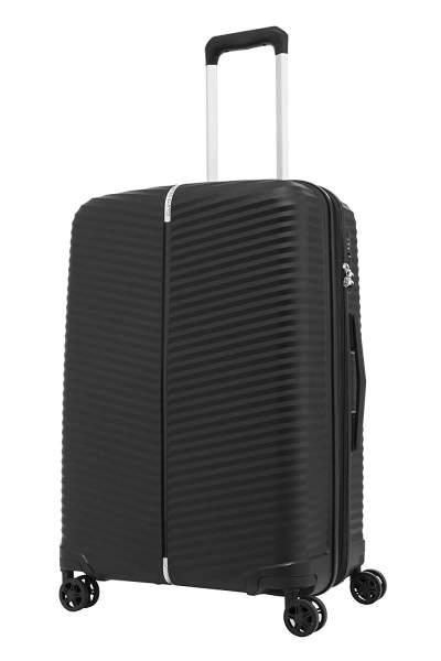 SAMSONITE Varro Polypropylene Black Hardsided Check-in Luggage