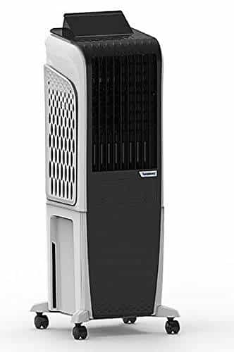 Symphony Diet 3D 30i Tower Cooler - 30 Litres, Black and White