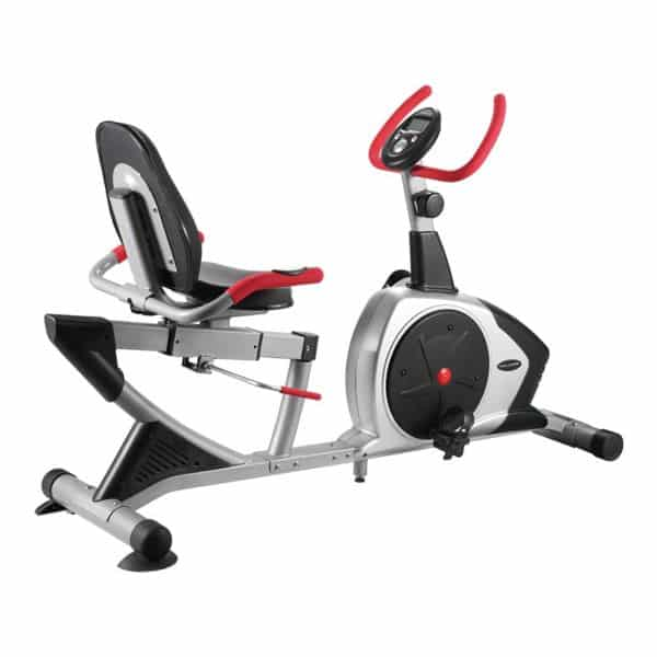 Welcare WC6850 Recumbent Exercise Bike with Adjustable Seat, Pulse Monitor and LCD Display