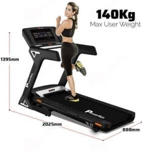 PowerMax Fitness TA-C5 4HP (6HP Peak) Motorized Treadmill