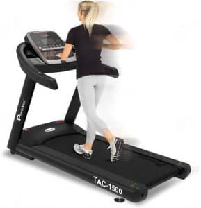 PowerMax Fitness TAC-1500 4HP (6HP Peak) Motorized Treadmill