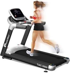 PowerMax Fitness TAC-2000 4HP (6HP Peak) Motorized Treadmill