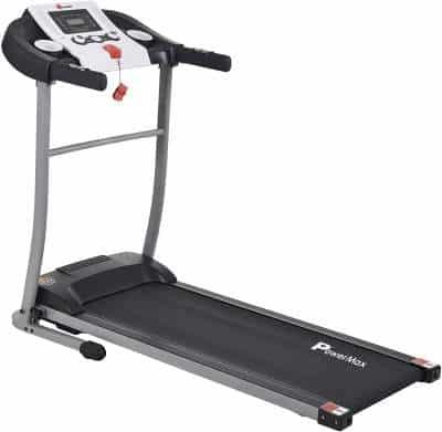 PowerMax Fitness TDM-98 1.75HP (3.5HP Peak) Motorized Treadmill