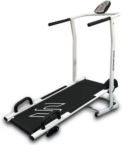 Sparnod Fitness Foldable Manual Treadmill for Home Gym