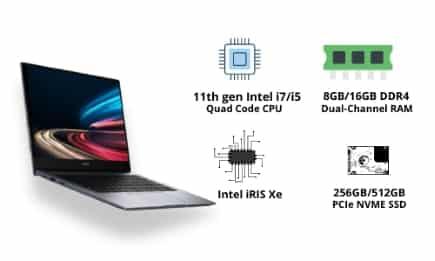 Processor, Storage, Memory and GPU Of Honor MagicBook 14 (2021)
